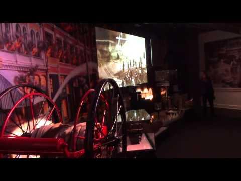 MOHAI's new 1889 Seattle Fire exhibit