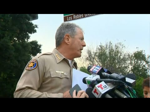 Raw Video: Early Morning Sheriff's Briefing On Massacre In Thousand Oaks