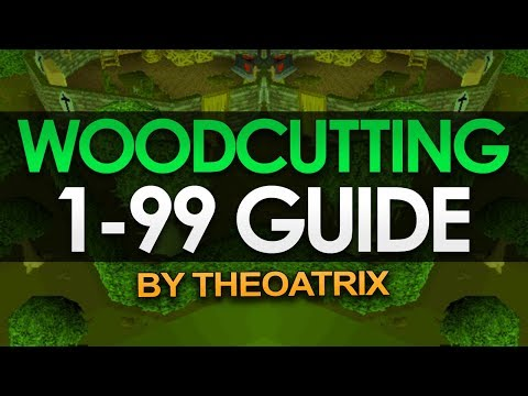 Theoatrix's 1-99 Woodcutting Guide (OSRS)