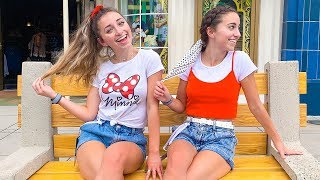 Brooklyn & Bailey Almost Missed Their Disney Trip *alone in the airport* by Cute Girls Hairstyles