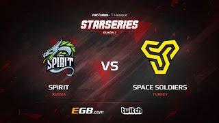 Spirit vs Space Soldiers, map 2 cache, SL i-League StarSeries Season 3 Europe Qualifier