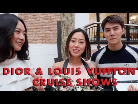 Dior & Louis Vuitton Cruise shows, Europe Vlog Part 1 - Vlog#60 | Aimee Song