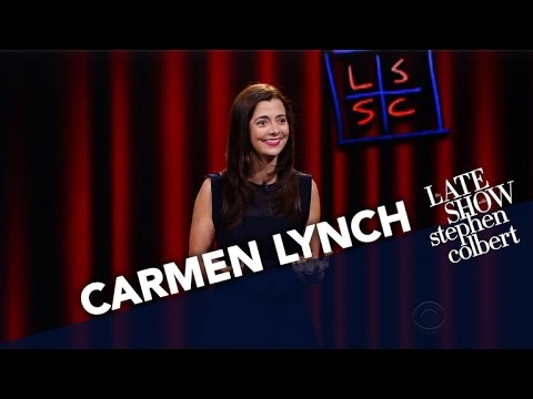 Carmen Lynch Performs Stand Up