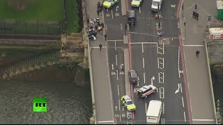 Несколько человек ранены во время стрельбы у британского парламента — LIVE