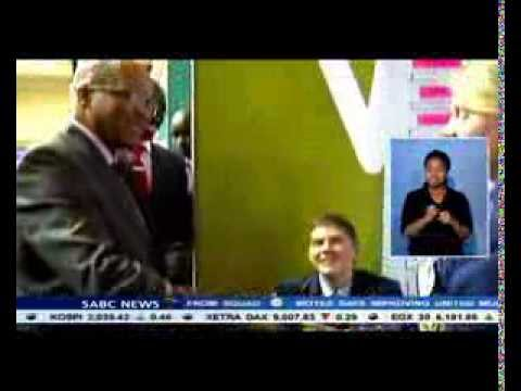 Jacob Zuma attended the Eskom Expo for young scientists in Pretoria.