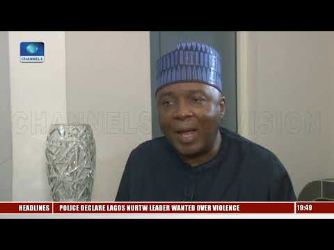 The Government Of Buhari Is Corrupt, Saraki Alleges Pt.2