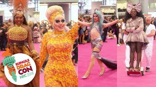 Queen Entrances at RuPaul's DragCon NYC 2018