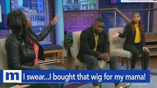 I swear...I bought that wig for my mama! | The Maury Show