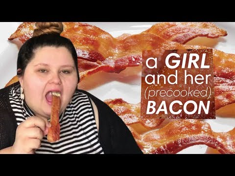 A GIRL And Her (precooked) BACON | An Amberlynn Reid Saga