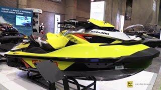10. 2015 Sea Doo RXT-X 260 aS Jet Ski - Walkaround - 2015 Montreal Boat Show