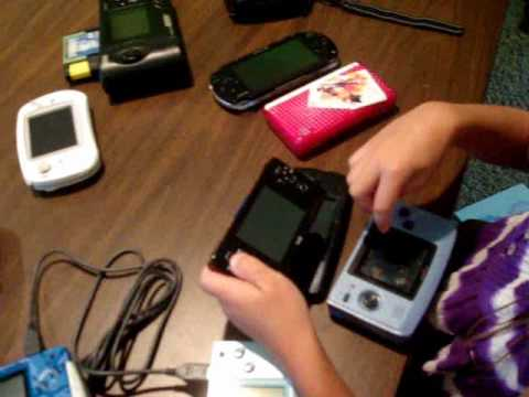 GPH Caanoo Vs. GP2X Wiz GP32 NGPC PSP NDS, etc.