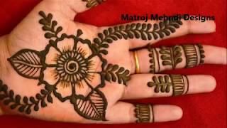 hello all,here is a video on new latest mehndi designs for hands.follow on instagram : https://www.instagram.com/divya080/subscribe for more videos:https://www.youtube.com/channel/UCECgulN13NACgO49LRXeQpAfacebook : https://www.facebook.com/Matroj-Mehndi-Designs-284372255239829/