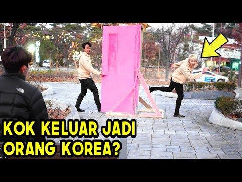 PINTU KEMANA SAJA DORAEMON PRANK! EH Keluar Jadi ORANG KOREA #6 | FT. HOOD BOYZ [동네놈들]