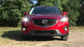 2014 Mazda CX-5 - Drive Time Review With Steve Hammes