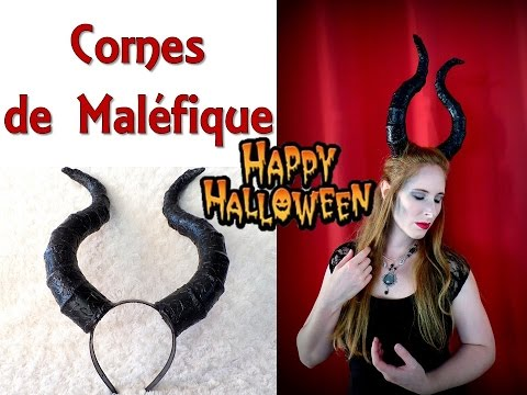 [ Tuto Halloween] Costume: Cornes de Maléfique