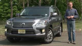 2013 Lexus LX570 - Drive Time Review With Steve Hammes