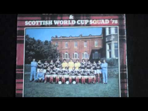 Rod Stewart And The Scottish World Cup Squad - Ole Ola 