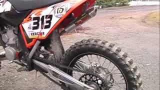 3. 2007 KTM 250 SX Red Bull Edition