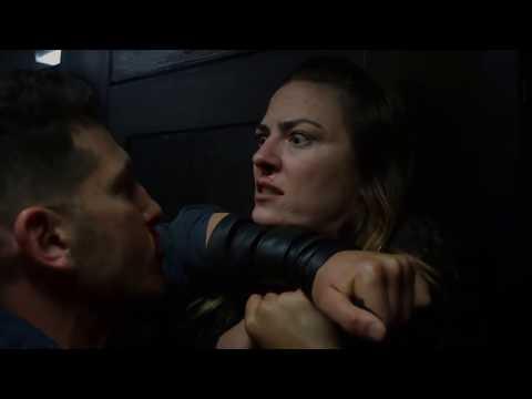 The Punisher - Bathroom Fight Scene - S2E1