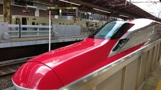 Shinkansen Super Komachi スーパーこまちの旅乗り鉄ビデオE6系 東京→秋田