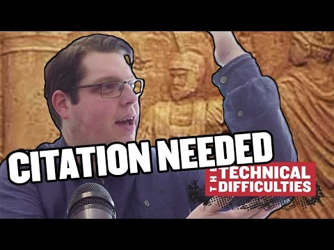 The Hydraulic Telegraph and Latin Grease: Citation Needed 5x01