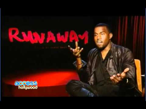 Kanye West Interview at Runaway Film Premiere