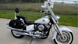 5. 2007 Yamaha VStar 650 Classic Pearl White Overview Review Walk Around
