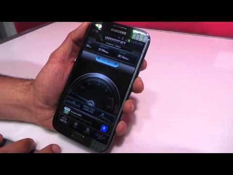 T-Mobile Galaxy Note II LTE Test