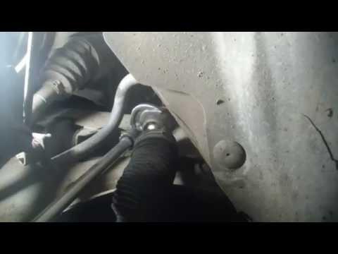 Рено меган 2 замена рулевой тяги фотоотчет фото
