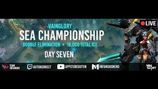 [Vainglory Sea Championship] Sea Championship Round 7| Day 7 | Caster : Junky, tin công nghệ, công nghệ mới