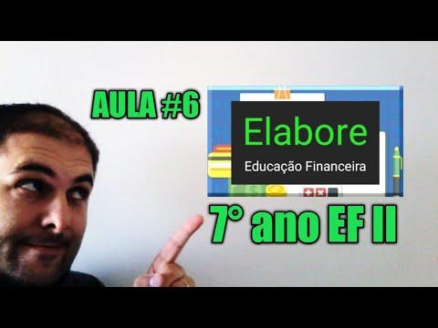 💰 EDUCAÇÃO FINANCEIRA #6 | 📝 7° ano EF 2 | 11-12 anos