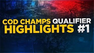 COD Champs Qualifier Highlights - Part One!