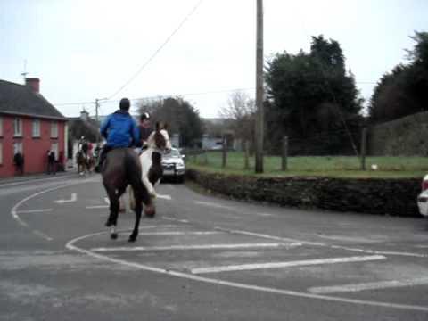 New Years Day Hunt -2011- Ballinadee, Co. Cork