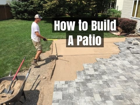 , title : 'How to Build a Patio - An easy Do it Yourself Project'