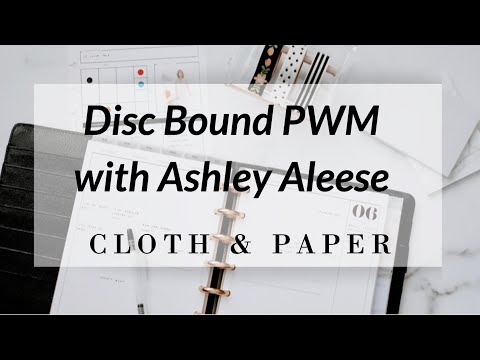 Disc Bound Set Up & Plan With Me! | Ashley Aleese!