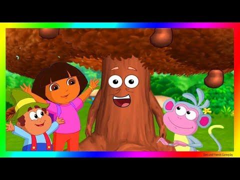 Dora and Friends The Explorer Cartoon 💖 The Chocolate Tree Adventure Gameplay as a Cartoon !