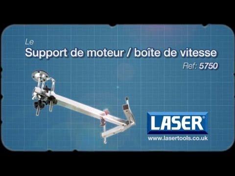 5750 | Laser Support de moteur ou de boite de vitesse