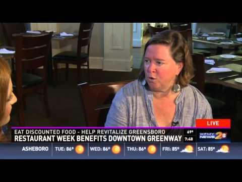 2015 Downtown Greensboro Restaurant Week