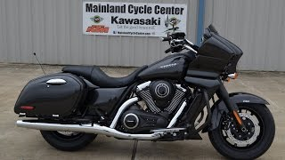 3. SALE $13,999:  2015 Kawasaki Vulcan 1700 Vaquero Bagger Overview and Review
