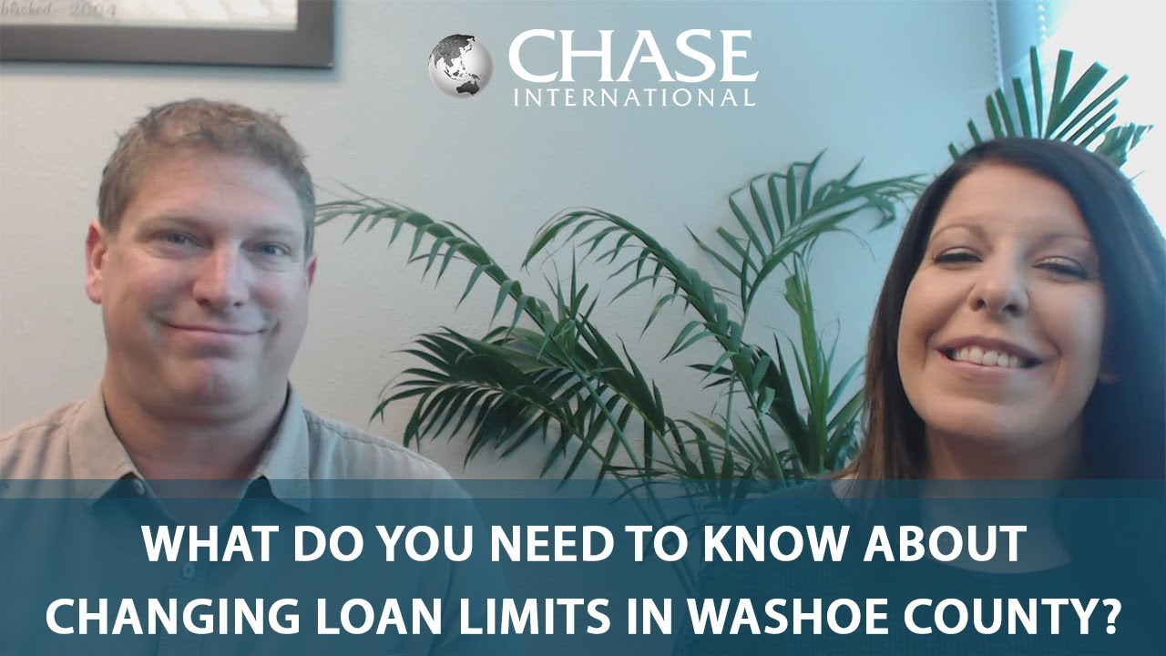 Loan Limits Are Changing in Washoe County