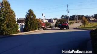 9. Honda Pioneer 700 vs 500 Drag Race | UTV / Side by Side ATV / SxS / Utility Vehicle