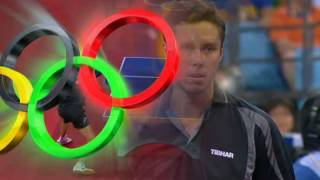 2008 Olympics China  Jorgen Person vs Vladimir Samsonov BLR