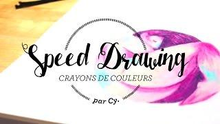 Video Speed Drawing - Les Endormies - Nyx MP3, 3GP, MP4, WEBM, AVI, FLV Mei 2017