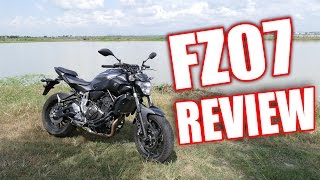 7. 2015 Yamaha FZ-07   MT-07 Full Review