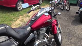 10. 2006 Kawasaki Vulcan 500 Ltd. (+Straight Pipe Audio)