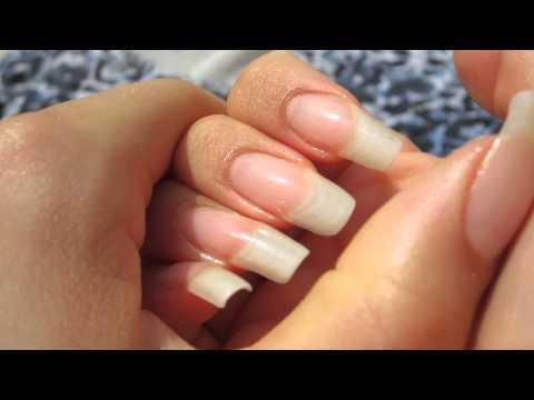MY LONG NATURAL NAILS - dani 89 (video 43)