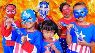 Video Aksi Rara Superhero Lucu  membuat es krim milo+oreo//Lagu anak anak-mainan anak MP3, 3GP, MP4, WEBM, AVI, FLV Agustus 2019