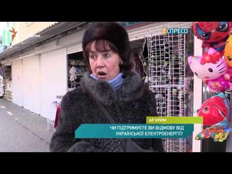 Соцопитування в Криму: Чи підтримуєте Ви відмову від української електроенергії?