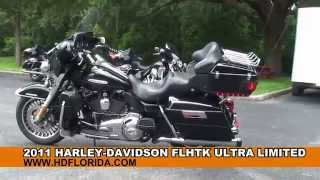 1. Used 2011 Harley Davidson Electra Glide Ultra Limited Motorcycles - Harley Sound