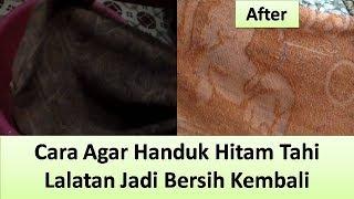 Video Handuk Hitam Tahi Lalatan Kembali Bersih Kinclong MP3, 3GP, MP4, WEBM, AVI, FLV Mei 2019